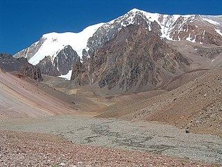 Cordillera de la Ramada mountains in Argentina