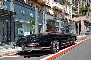 Mercedes-Benz 300 SL - Mercedes-Benz 300 SL Roadster