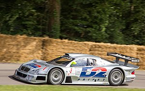 Mercedes-Benz CLK GTR - Mercedes-Benz CLK GTR at Goodwood Festival of Speed 2014