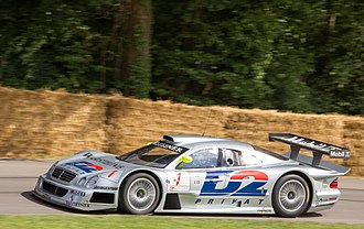 Mercedes-Benz CLK GTR - Image: Mercedes Benz CLK GTR at Goodwood 2014 001