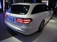 Mercedes-Benz E250 Stationwagon AVANTGARDE Sports (S213) rear.jpg