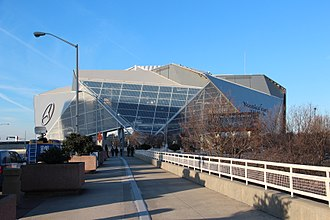 Super Bowl LIII - Image: Mercedes Benz Stadium, Jan 2018