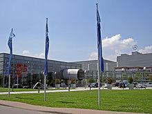 Lo stabilimento di Rastatt con il centro clienti