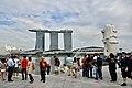 Merlion Statue at Merlion Park, Singapore (Ank Kumar) 03.jpg