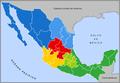Mexico mapa regional.png