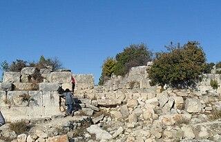Meydancık Castle Ruins of an ancient castle in Mersin Province, Turkey