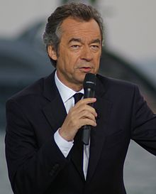 Michel Denisot in Cannes in 2010