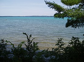 View of Torch Lake