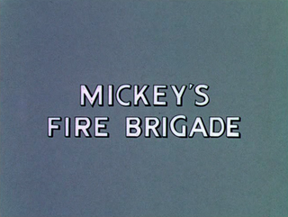 <i>Mickeys Fire Brigade</i> 1935 film by Ben Sharpsteen