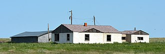 Middle America (United States) - An abandoned American farm, June 2015