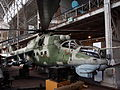 Mil Mi-24 at the Royal Military Museum Brussels.JPG