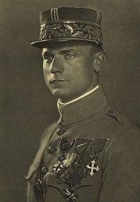 Milan Rastislav Štefánik Slovak politician, diplomat, French Army general and astronomer