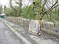 Milestone, Woodhead Road, Honley - geograph.org.uk - 732540.jpg