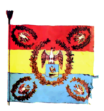 Military colors of Dorobanti regiment in Arges county, Wallachia (1852).png