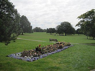 Mill Hill Park - Image: Mill Hill Park flower bed