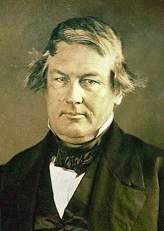 United States presidential election, 1848 - Image: Millard Fillmore daguerreotype by Mathew Brady 1849 (cutout)