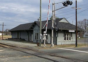 Mineral, Virginia - C&O Depot in Mineral