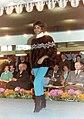 Mink fur pullover, Fur Fair1964 Frankfurt Main Internationale Pelzmesse.jpg