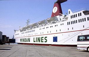 F/B Fedra (Bj. 1974, Minoan Lines: 1987-2000)