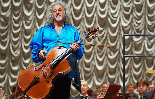 Photo Mischa Maisky via Wikidata