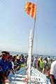 Mise à l'eau de la barque des saintes lors du pélerinage des Gitans.jpg