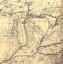 Michigan And Ohio Map.Toledo War Wikipedia