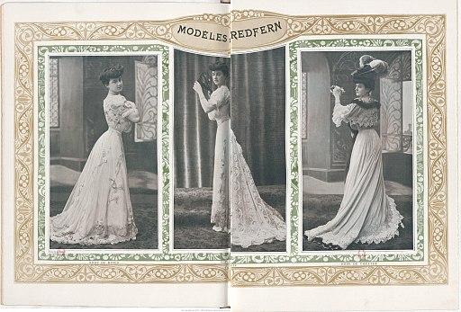 Modèles par Redfern 1906