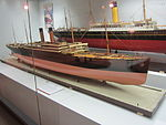 Model of RMS Cedric (ship, 1903), Merseyside Maritime Museum.JPG