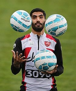 Mohammad Ansari in Persepolis training.jpg