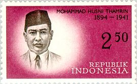 Mohammad Husni Thamrin 1961 Indonesia stamp.jpg