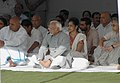 Mohd. Hamid Ansari, the Union Power Minister, Shri Sushilkumar Shinde, the Chief Minister of Delhi, Smt. Sheila Dikshit and other dignitaries at the all religion prayer meeting.jpg