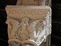 Moissac (82) Abbaye Saint-Pierre Cloître Chapiteau 08.JPG