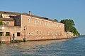 Monastero San Giorgio Maggiore facciata sudovest Canale di San Giorgio.jpg