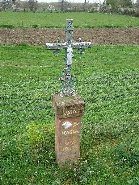 Croix de pèlerinage Saint-Jacques - Vaux - Moncé-en-Belin - Sarthe (72)