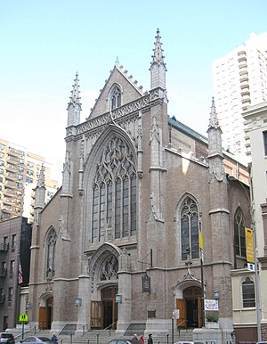 Schickel & Ditmars - The Church of St. Monica (Manhattan), photographed in 2008