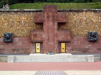 Mémorial de la France combattante - Cross of Lorraine