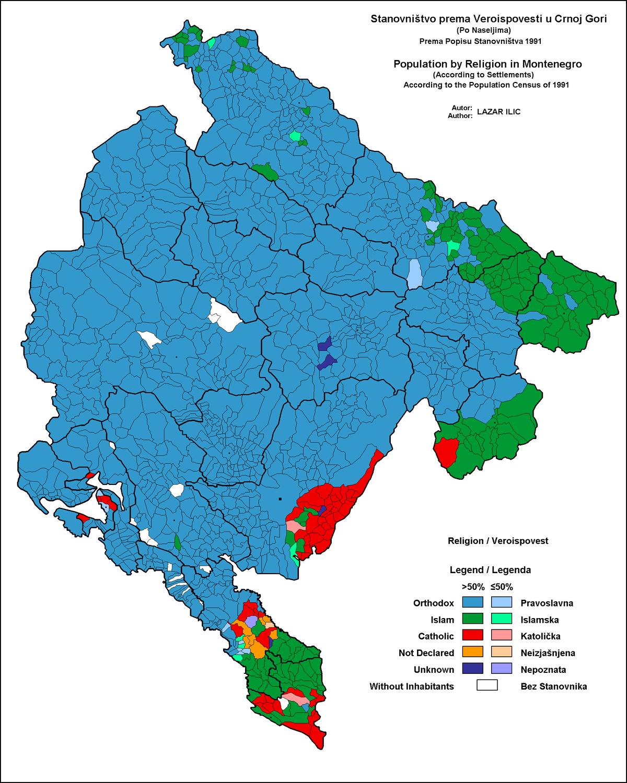 Bosne gore karta crne i VODIČ Kako