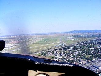 Montreal Saint-Hubert Longueuil Airport - Image: Montréal Saint Hubert Airport