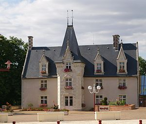 Montreuil-Juigné - The town hall of Montreuil-Juigné