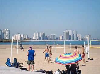 Tourism in Chicago - Montrose Beach in Chicago