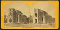 Moravian church under construction, by J. T. Schaub.png