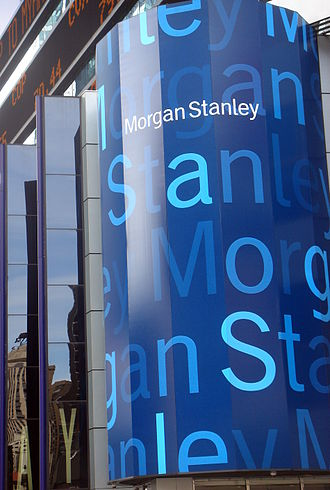Morgan Stanley - Morgan Stanley's office on Times Square