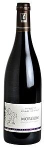 bouteille de vin morgon