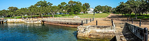 Mort's Dock - Image: Mort Bay Park Balmain