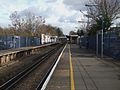 Mottingham station look east.JPG