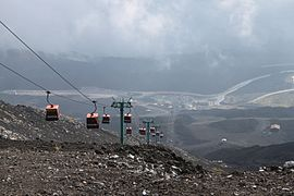 Mount Etna - looking down upon Rifugio Sapienza and Nicolosi Nord.jpg