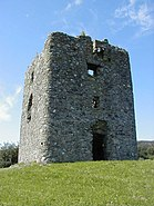 Moyry Castle, Geograph