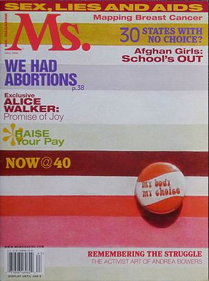 "Ms. (magazine) - Fall 2006 issue of Ms. magazine for ""We Had Abortions"""