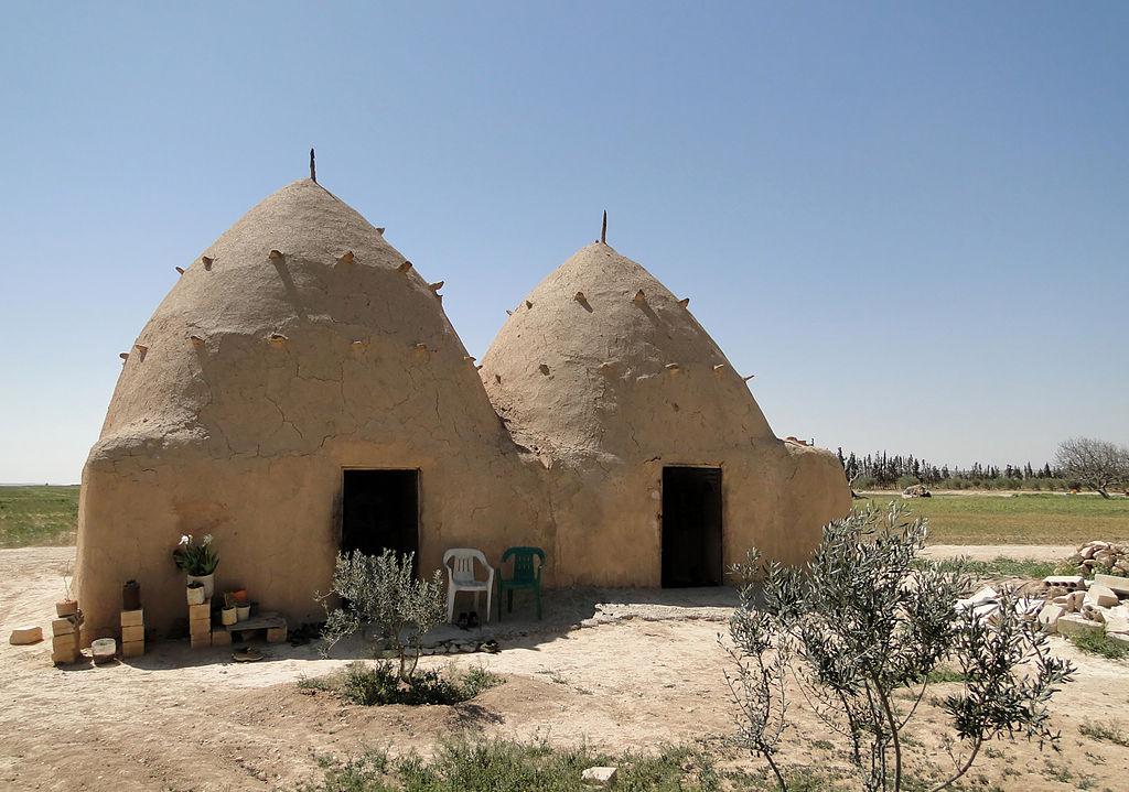 File Mud Houses Syria Jpg Wikimedia Commons