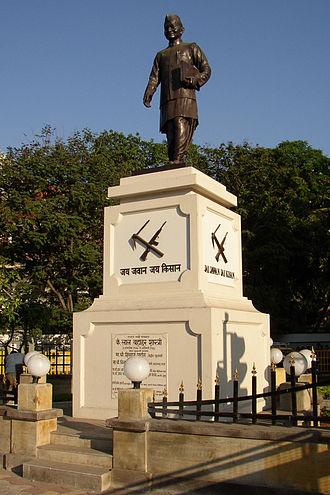 Lal Bahadur Shastri - Shastri's statue in Mumbai